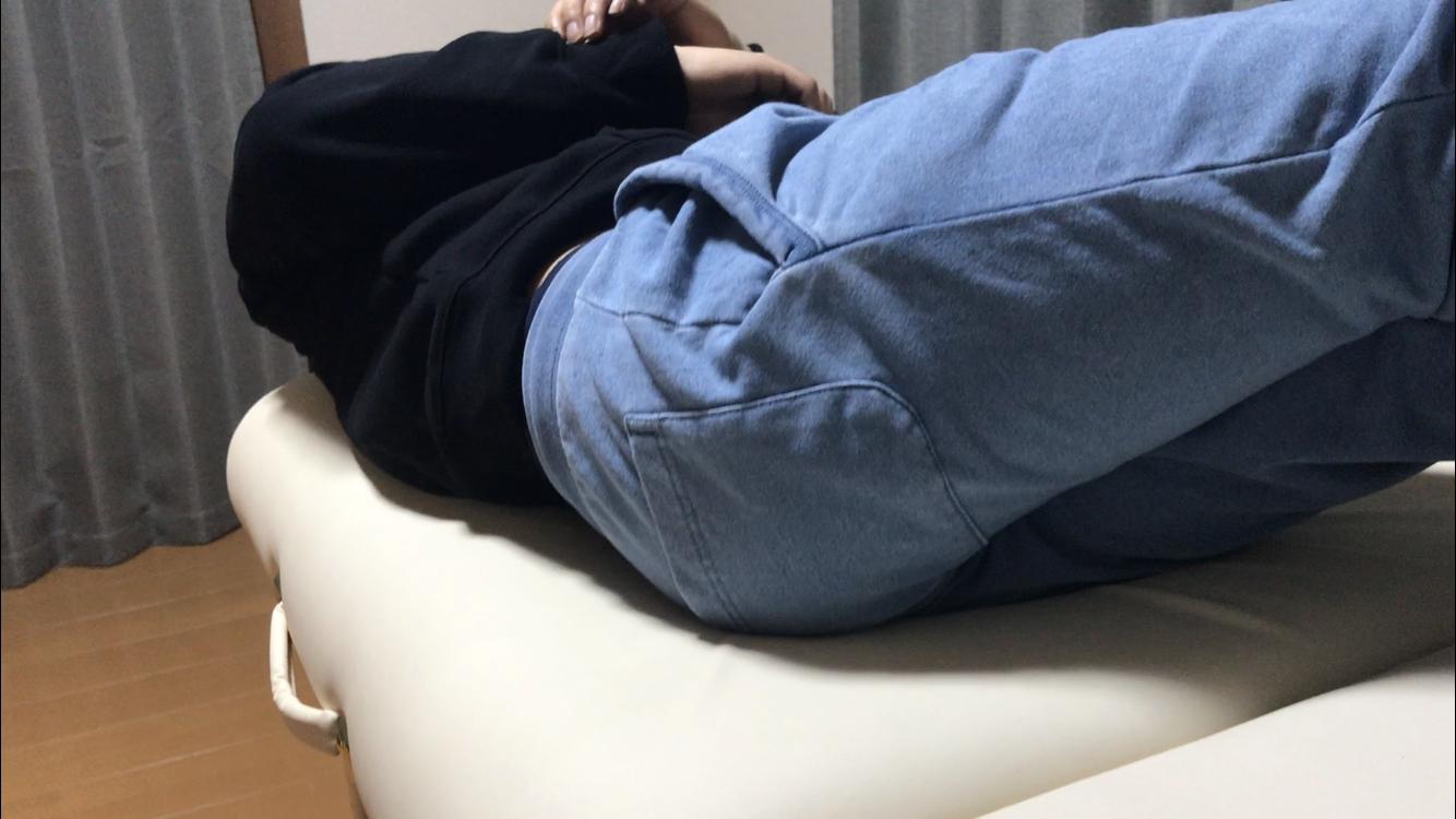 ぎっくり腰寝返り施術後