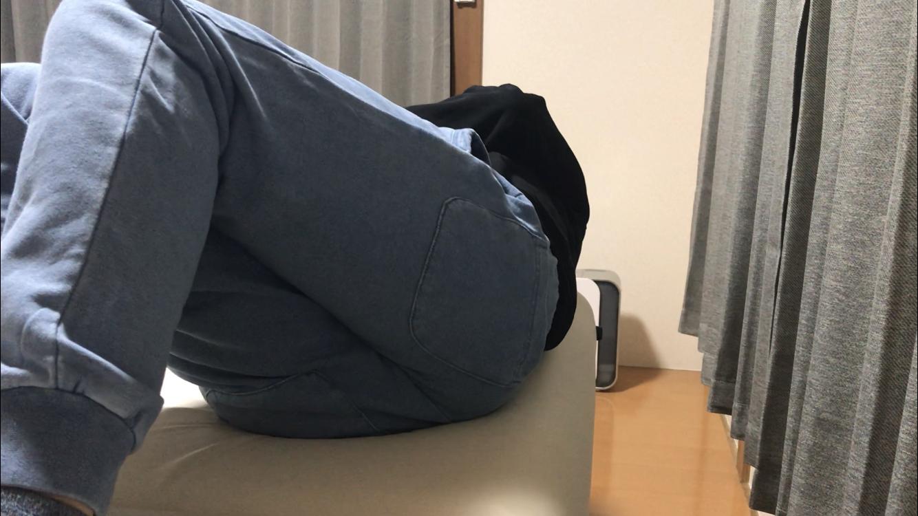 ぎっくり腰の反対側施術前