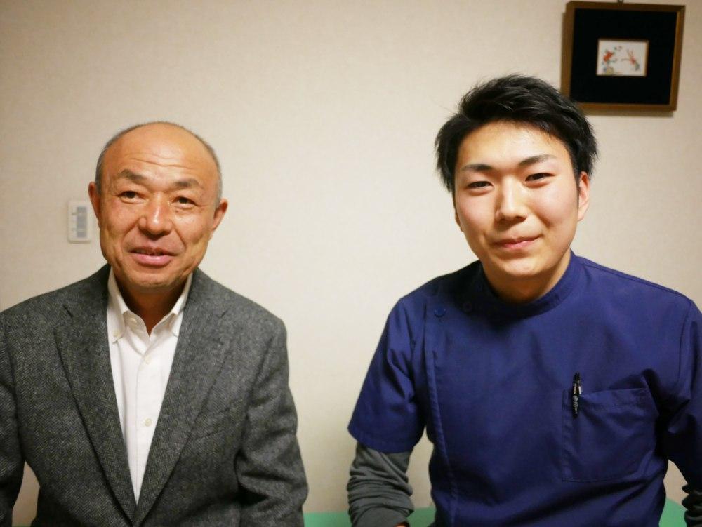 医師山田先生ツーショット