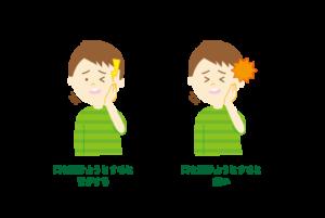 顎関節症のイラスト